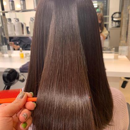 【minimo限定価格】💜酸熱トリートメント💜次世代の髪質改善!!ブリーチやパーマで痛んだ髪を復活させます🌻