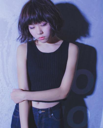 定番ぼぶ!!!パーマでオシャレに。 HAIR LOUNGE  AZZURRO所属・森川奈恵のスタイル