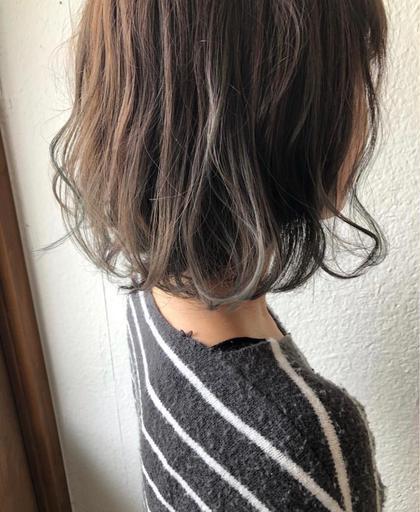 ⭐︎女性スタイリストが担当⭐︎柔らか質感カラー+セラミドTR¥5500