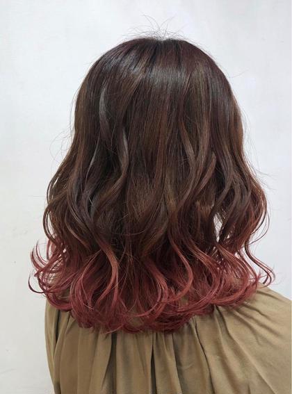 ✂️〈大好評〉✂️カット & グラデーションカラー&外国人風オンカラー &髪質改善トリートメント