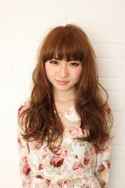 ふわっとlove girlに! Hair and Make kiyoshi所属・小原良之のスタイル