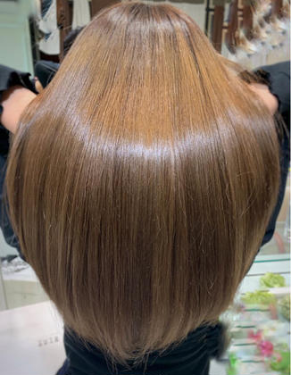 これ、ほんとに凄い。💝カット+髪質改善酸熱トリートメントストレート💝 業界初❤️トリートメント以上、縮毛矯正未満