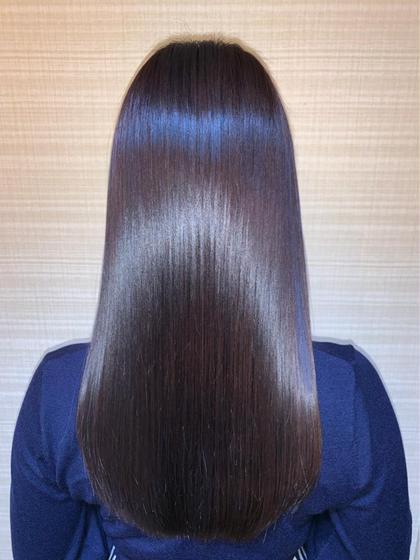 《🥉人気No.3🥉》カット+カラー+髪質改善水素トリートメントULTOWA+炭酸泉✂️
