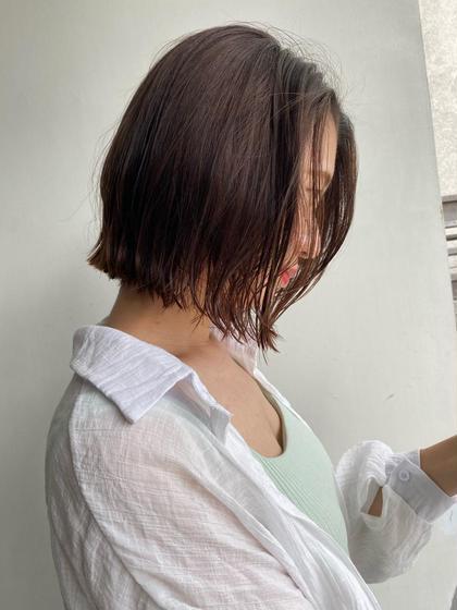 ✨minimo限定メニュー✨〜②回目 ミニボブ,ショートボブ or 切りっぱなしボブ or タンバルモリ+TR🐝🍯