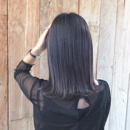 🌿平日限定🌿人気No.2 暗髪透明感カラーまたは黒染め風ブルーブラックしたい方【15500円→5500円】