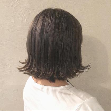 人気のグレージュカラーです! hair design Glanz所属・大垣めぐみのスタイル