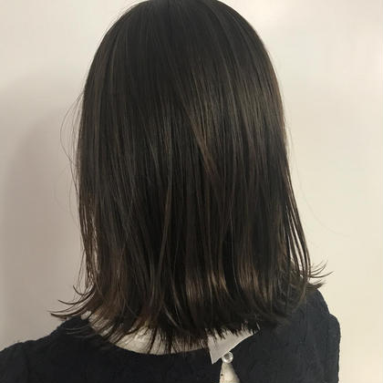 外ハネボブ&外国人風ブルーブラックカラー addbyk-two所属・濱田大輔のスタイル