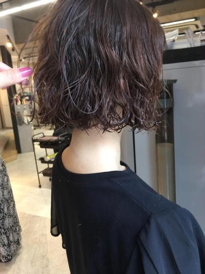 パーマ髪にやさしいコスメパーマ