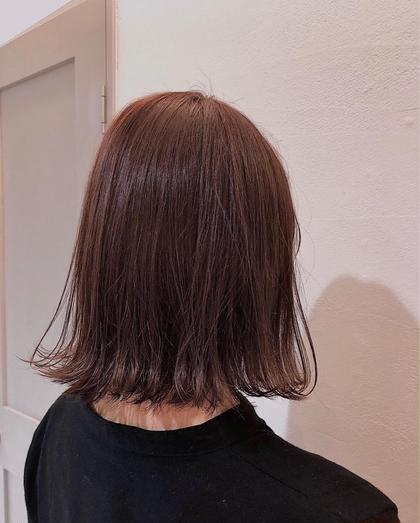 🌻🎆透明感ヘアカラー&サラサラ美潤トリートメント🌟簡単ヘアアレンジ🧡付き!