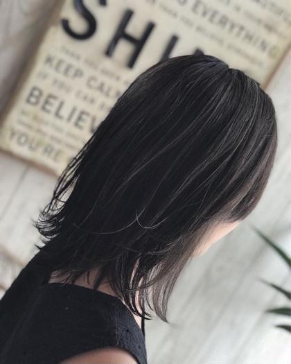 🖤黒染めじゃない黒髪艶カラー🖤