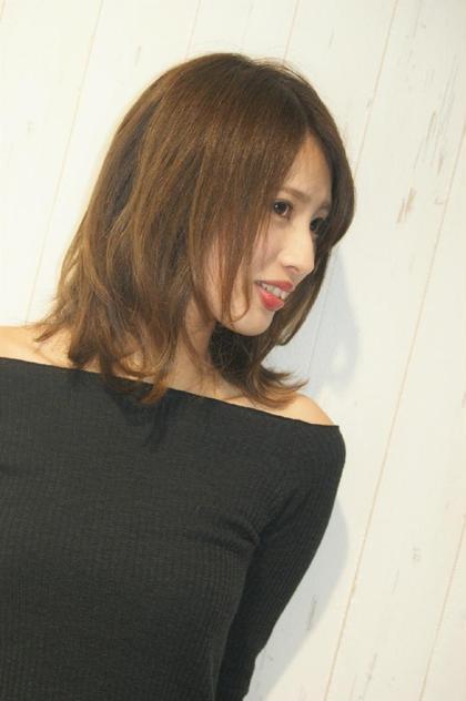 【#黒髪卒業式】イルミナカラー+トリートメント