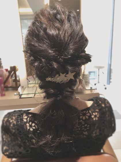 hair set...❤︎  casa hiru garden所属・佐賀野里奈のスタイル