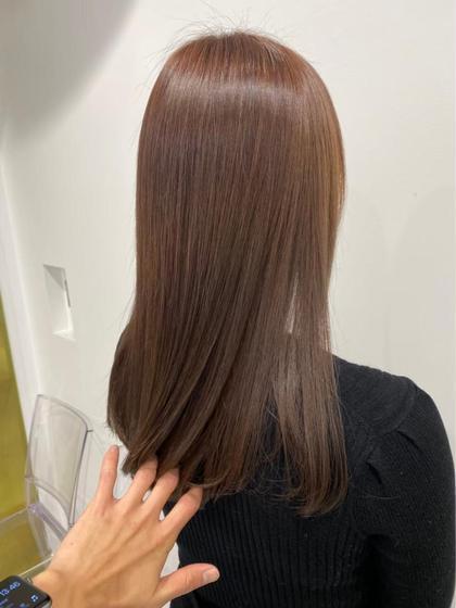【💚オープン記念minimo限定価格💚】透明感カラー🌿&髪質改善トリートメント🌿+ホームケア付💭綺麗が続く💕