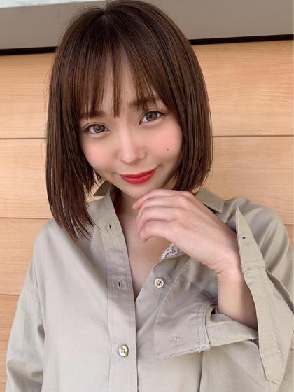 💕新世代トリートメント💕髪質改善トリートメント+ウル艶カラー+上質トリートメント💕