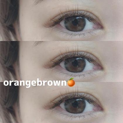 マツエク・マツパ 髪色にも合わせやすい王道brown︎︎❤︎︎︎︎❤︎︎ オレンジブラウン人気のお色です🍊