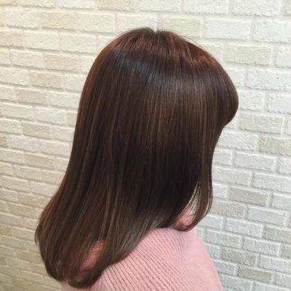 内巻きセミロング hair.make所属・西尾聡のスタイル