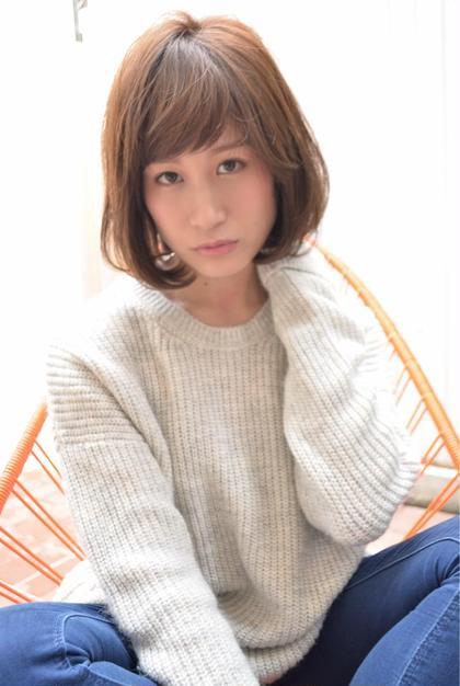 エフォートレスボブ SANTA LAND所属・小田悠平のスタイル