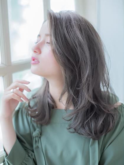 【女性必見】選べるパーマ+カット+オーガニックカラー+コラーゲンTr¥7470