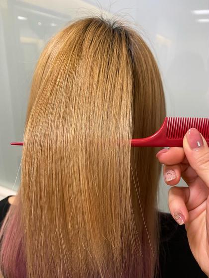 🌟TV📺で話題🌟サブリミック髪質改善トリートメント💇♀️+カット+カラー
