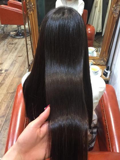【髪質改善】カット & 縮毛矯正 & 髪質改善ヘアエステ