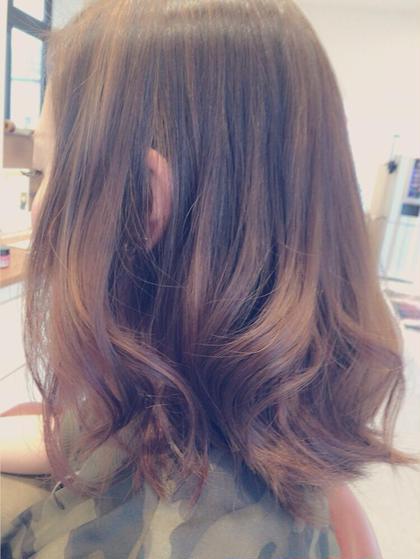 ハイライト&ローライト HAIR&MAKE  EARTH     高知潮江所属・高尾綺女のフォト