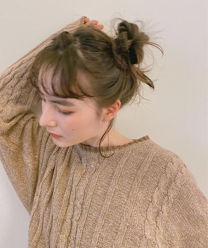 【 ミニモ限定 】前髪cut + ヘアアレンジ