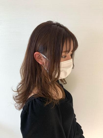 🟣【㊙️大人気クーポン㊙️】カット✂️➕カラー➕oggi otto4トリートメント🟡8800円✨ダメージレスな髪を✨