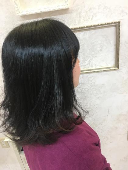 ❤︎natural black × sotohane❤︎ KiRANAsari所属・高橋舞のスタイル