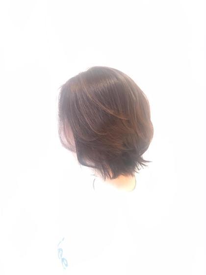 ショートボブスタイル♡ ワックスなしでも簡単 スタイリング♡✂️ SARA21Beautysight所属・幸美里のスタイル
