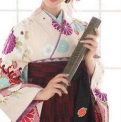 卒業式 袴美人!