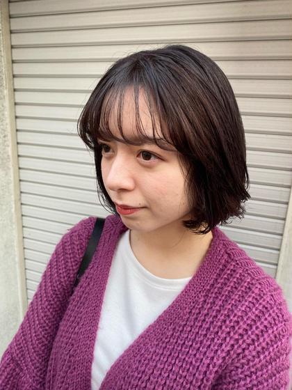 🎌ボブカット+髪質改善トリートメント🎌