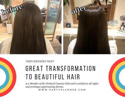 髪質改善トリートメント❤フルバージョン