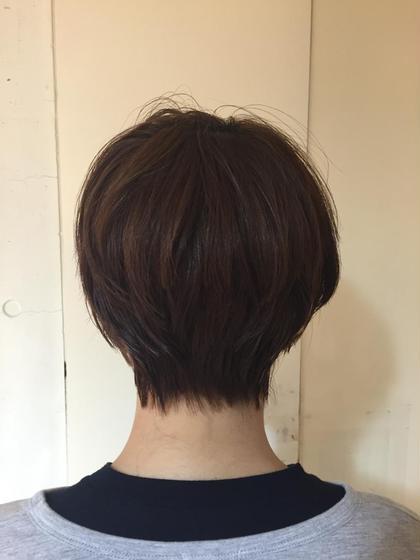 襟足スッキリショートスタイル*☆ Neolivecaff所属・岡田有希のスタイル