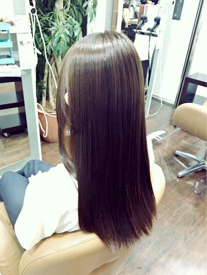 シナモンベージュ、ブルーアッシュ 自然な色で、地毛っぽく仕上がりました(*^_^*) ありがとうございました(^ν^) Faith所属・若生奈美恵のスタイル
