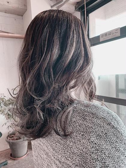 🌈透明感トレンドカラー❤✨前髪カット✂✨