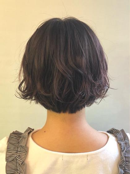 その他 カラー ショート ブリーチをした髪の毛ですが、しっかりとオージュアトリートメントをしたので髪の艶、柔らかさしっかりと保湿も入れ込みました☺️🌼
