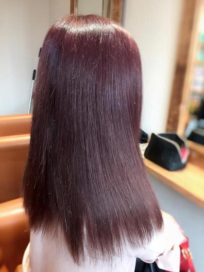 🍀抜群の透明感🍀イルミナカラー+前髪カット