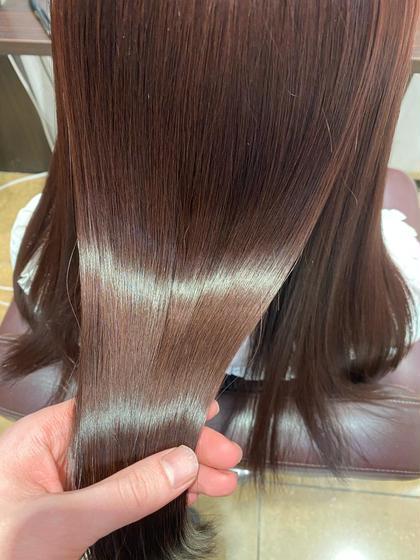 グラスヘアトリートメント🤩 髪質改善!