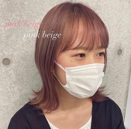 韓国風ナチュラルカラー&Aujua 2step treatment