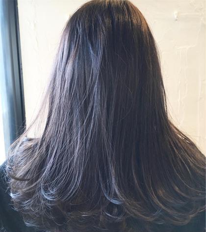 ❤️[フローディア]❤️前髪カット&フルカラー & 高級4stepトリートメント & ショートスパ&コテ巻き❤️