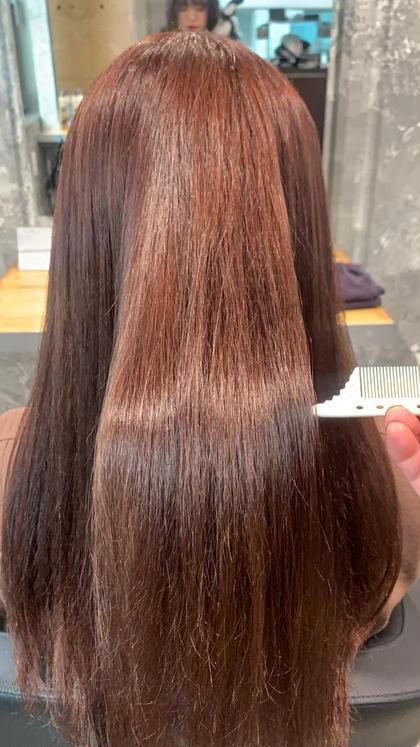 💖サラつや髪質改善トリートメント💖👼&前髪似合わせカット💖&炭酸スパ付き💖