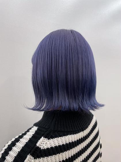🥫new!!🥫〔 艶髪×色持ち◎の新メニュー 〕ブリーチ➕マグネットケアカラー➕2stepトリートメント