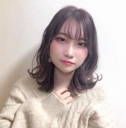 前髪カット☆カラー