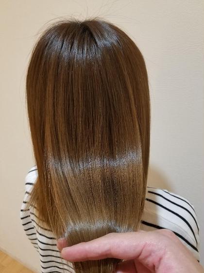 【#アオハル】髪質改善トリートメント シャンプーブロー込み