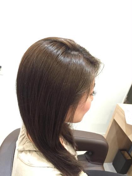 赤みが強いとのことで赤みを消すカラーにしてみました(((o(*゚▽゚*)o))) トリートメントで毛先も綺麗にまとまりのある仕上がりとなりました! 自分の髪色にお悩みの方ございましたらお気軽に( ´ ▽ ` )ノ DEAR-LOGUE Luz店所属・吉田ともやのスタイル
