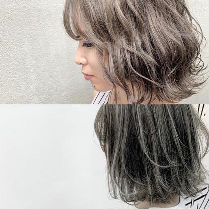 ⭐️前髪カット+ハイライトorグラデーションorインナー+トリートメント+⭐️#フェイスフレーミング#アクセサリーカラー