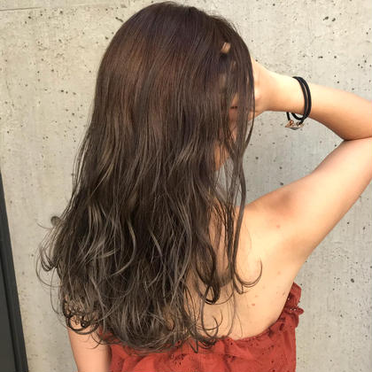 【✨後ろ髪撮影させてくださる方限定✨】💗カット💗透明感カラー 💗ReFoundaトリートメント