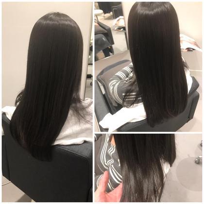 髪質にあわせて細かく薬剤、放置時間をコントロールすることで、ここまでキレイに染まります。 uka恵比寿三越店所属・倉光和徳のスタイル