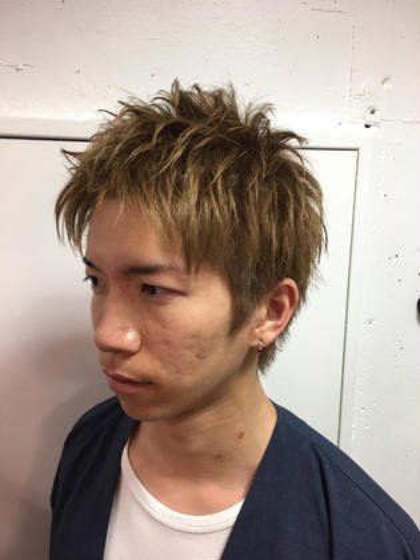 ショートレイヤー マットアッシュ JUNES 02所属・ヤマガタシュートのスタイル