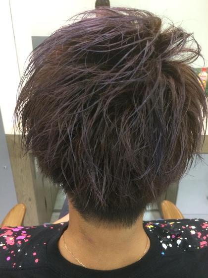 紫メッシュ!(ブリーチあり) Hair&Beauty  theB所属・山田香織のスタイル
